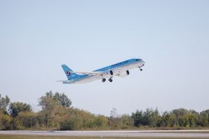 Korean Air first CS300 Delivery