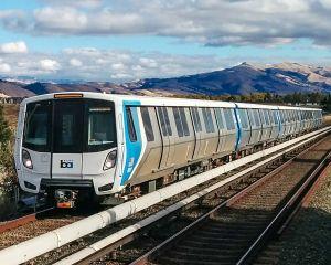 Les nouvelles voitures de Bombardier entrent en service sur le réseau BART de San Francisco