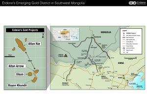 Erdene's Emerging Gold District