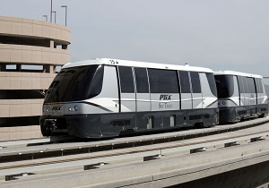 The BOMBARDIER INNOVIA APM 200 for the Phoenix Sky Train