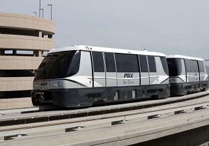 The BOMBARDIER INNOVIA APM 200 for the Phoenix Sky Train