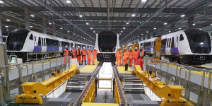 The BOMBARDIER AVENTRA Trains for London's Elizabeth Line (2)