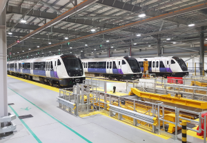 The BOMBARDIER AVENTRA Trains for London's Elizabeth Line