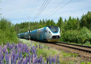 Train Bombardier à grande vitesse pour Västtrafik