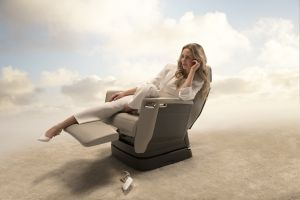 Nuage seat on the Global 7000 aircraft