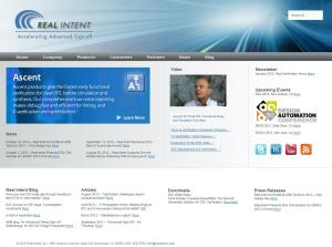 Real Intent website