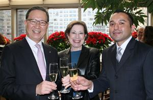 Y. D. Yoon, Asiana Airlines, Linda Vaughan, Adam Rodriguez, Premier Traveler, Premier Traveler Mag