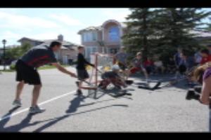 Craig Conroy Street Hockey