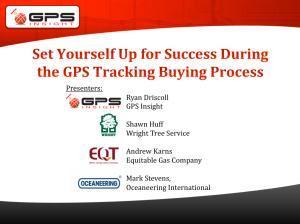gps tracking buying process