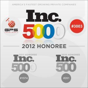 GPS tracking company Inc5000