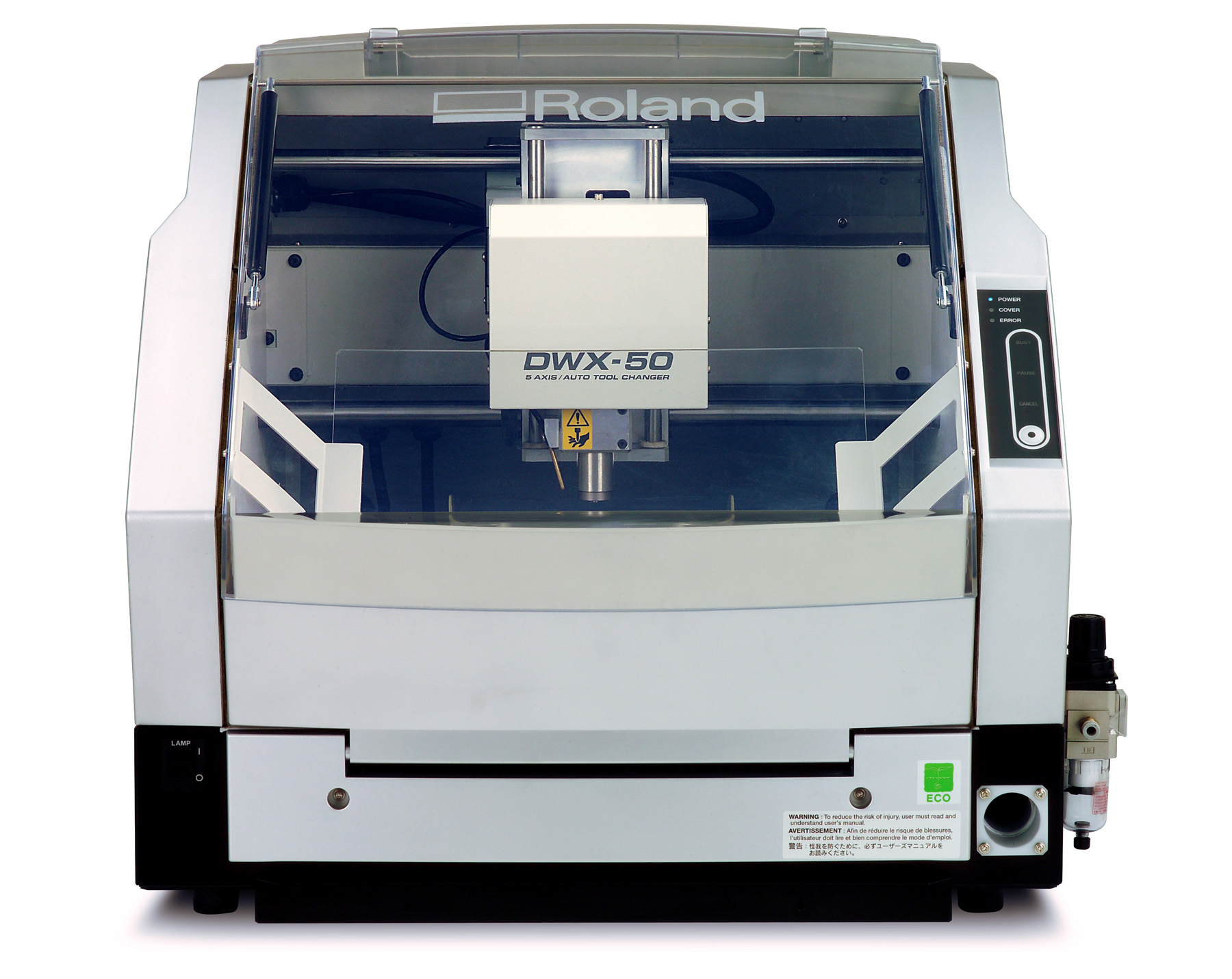 Roland Dwx 50 Dental Mill Approved For 3m Espe Lava Tm