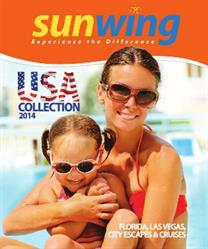 Sunwing Launches 2014 USA Brochure