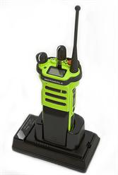Single Bay Two-Way Radio Drop-in Charger