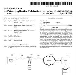 MarcoPoloLoco Patent Application