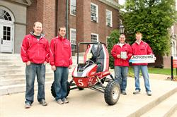 Advanced Solutions Proudly Sponsors 2013 University of Louisville SAE BAJA Team