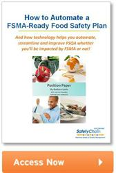 SafetyChain Software - How to Automate FSMA Ready Food Safety Plan