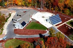 Aerial View of the ROSE Cottage Project