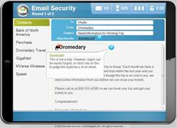 Phishing Email Training Game for Employees