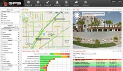 GPS Vehicle Tracking Dashboard Interface