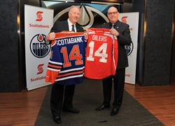 Scotiabank, Edmonton Oilers, hockey, sports, Andrew Ference, Patrick LaForge, community, Edmonton