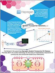 Hepregen and Qualyst Transporter Kit Co-Development