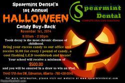 Spearmint Dental Halloween Candy Buyback