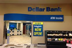 Dollar Bank opens its first office within a Shop-N-Save grocery store in the Hill District.