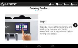 Argosy Soft Serve Machine Training App