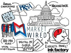 Marketwired and Ink Factory at PRSA 2014