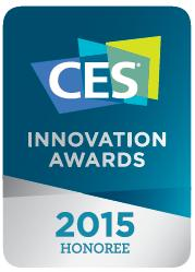 CES Innovation Awards 2015 Honoree