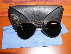 Peter Burke's Iconic Sunglasses