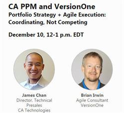 ca ppm,agile webinar,portfolio management