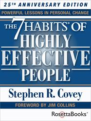 7 Habits of hghly effective people, stephen covey, rosettabooks, rosetta books