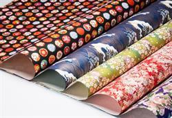 Chiyogami Yuzen Washi Japanese Paper - The Rare Orchid