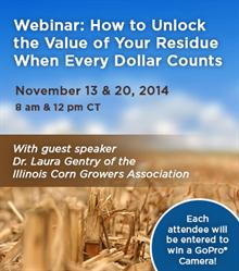 Webinar: How to Unlock the Value of Your Residue When Every Dollar Counts