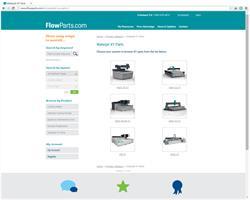 FlowParts.com screenshot