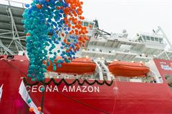 Ceona Amazon christening