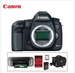 Canon EOS 5D Mark III DSLR Camera and Inkjet Printer Kit