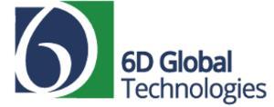 6D Global Technologies, Inc. Logo