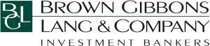 Brown Gibbons Lang & Company LLC