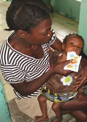 Child with HopeGel