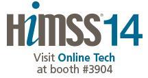 Online Tech @ HIMSS14 Encrypted Cloud Hosting