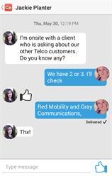 Cotap conversation