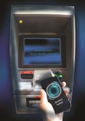 In the future, quantum cryptography might secure transactions such as identification at ATMs. (This