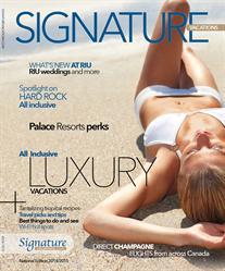 Signature Vacations 2014/15 brochure cover