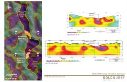 GoldQuest Mining Corp. 2014 ZTEM Survey - Resistivity Signature