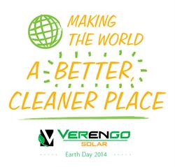 Verengo, earth day, solar