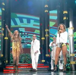 pitbull, claudia, leitte, jennifer, lopez, j-lo, fifa, world cup, billboards, music, graphics