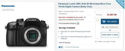 Live Panasonic DMC-GH4 Webcast from The BH Photo Studio