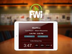 Turn your iPad into a digital sign with FWi's Content Player for iOS.